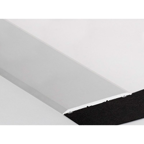 Seuil Plats Alu Incolore Adhésif 40mm (Long. 0,90M)