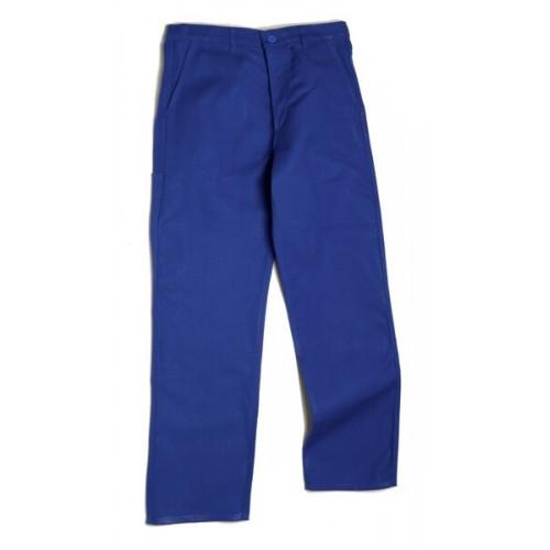 Pantalon Bleu Coton