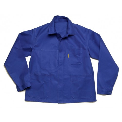 Veste Bleue Coton