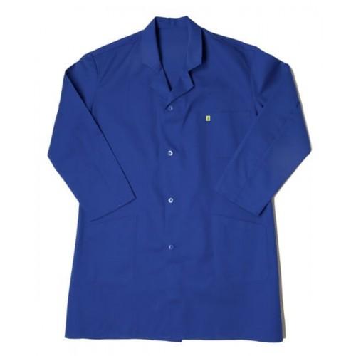 Blouse de Travail Bleue Coton