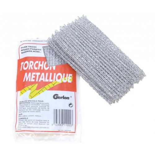 TORCHON METALLIQUE