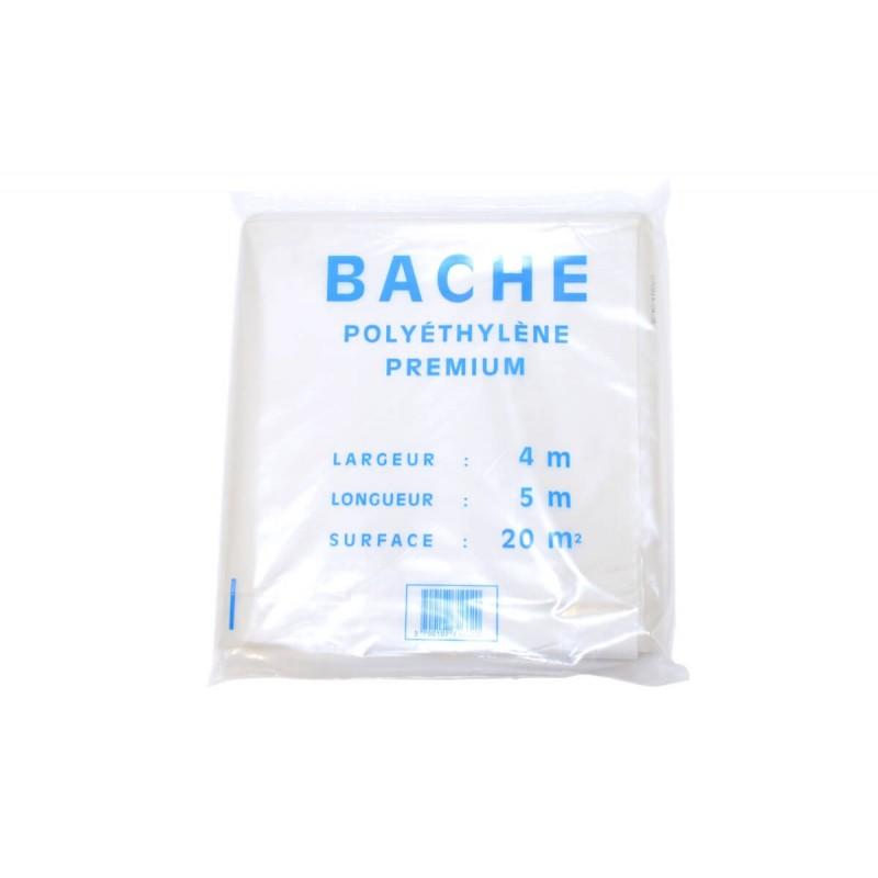 Bâche Plastique (4M x 5M)