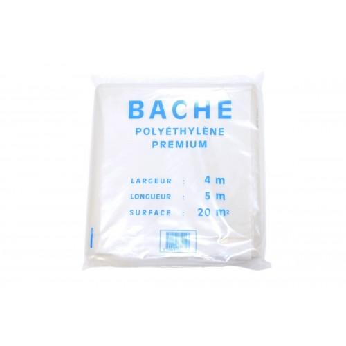 BACHE PLASTIQUE 4X5