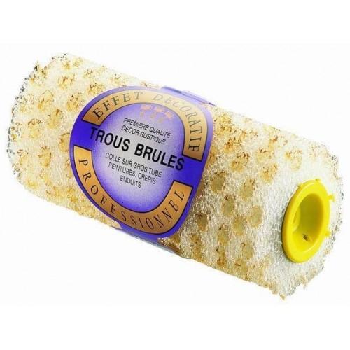 ROULEAUX NID D'ABEILLES TROUS BRULES