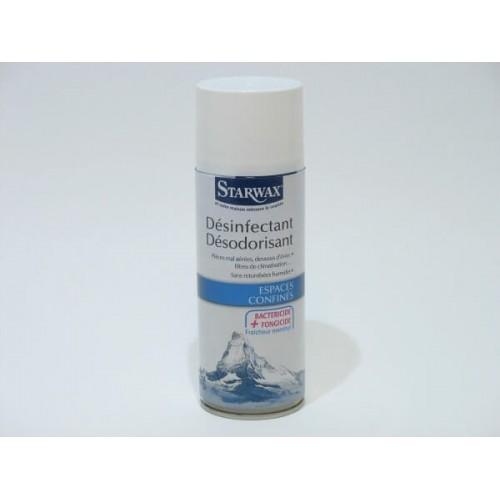 DESINFECTANT DESODORISANT BACTERICIDE STARWAX AEROSOL DE 400ML