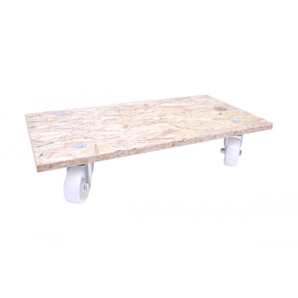 plateau roulant 4 roues pour meubles. Black Bedroom Furniture Sets. Home Design Ideas