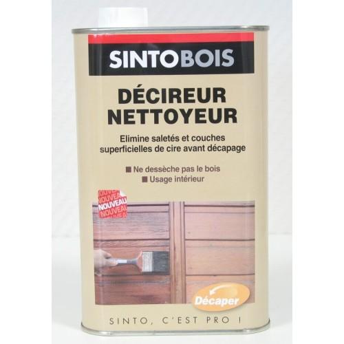 SINTOBOIS DECIREUR NETTOYEUR FLACON DE  1L