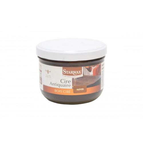 Starwax Cire Antiquaire Bois Ciré Ton Noyer (Pot 375ml)