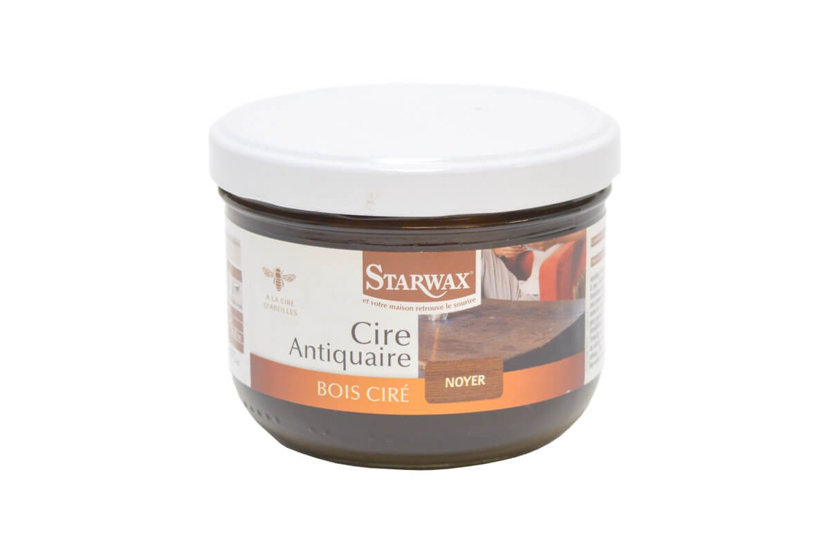 starwax cire antiquaire bois cir ton noyer pot 375ml. Black Bedroom Furniture Sets. Home Design Ideas