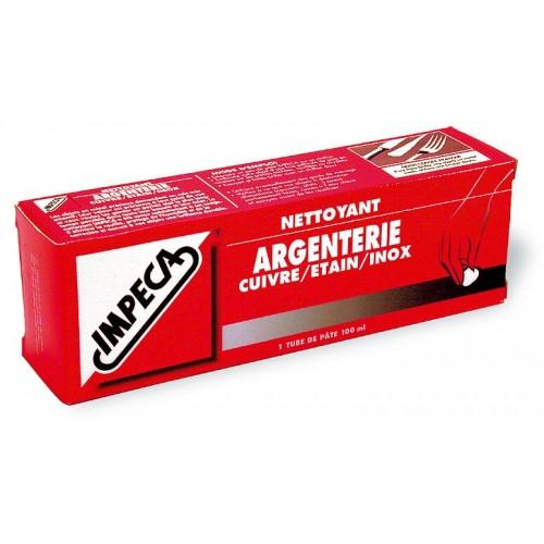 IMPECA NETTOYANT ARGENTERIE TUBE DE 100ML