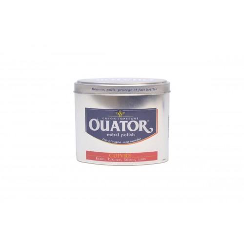 Ouator Coton Imprégné Métal Polish Cuivre (Boite 75g)