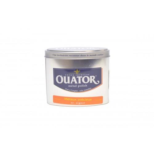 Ouator Coton Imprégné Métal Polish Métaux Précieux (Boite 75g)