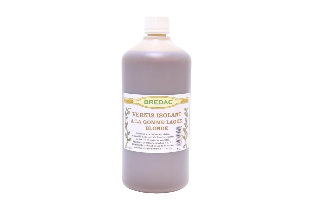 Vernis isolant gomme laque blonde for Goudron liquide exterieur