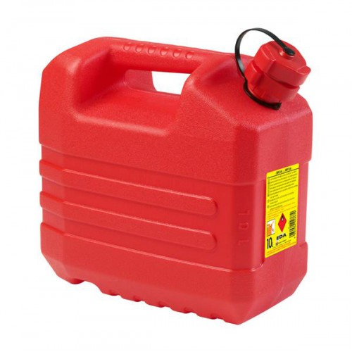 JERRICAN HYDROCARBURES 10 L ROUGE