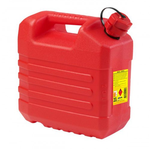 JERRICAN HYDROCARBURES 20 L ROUGE