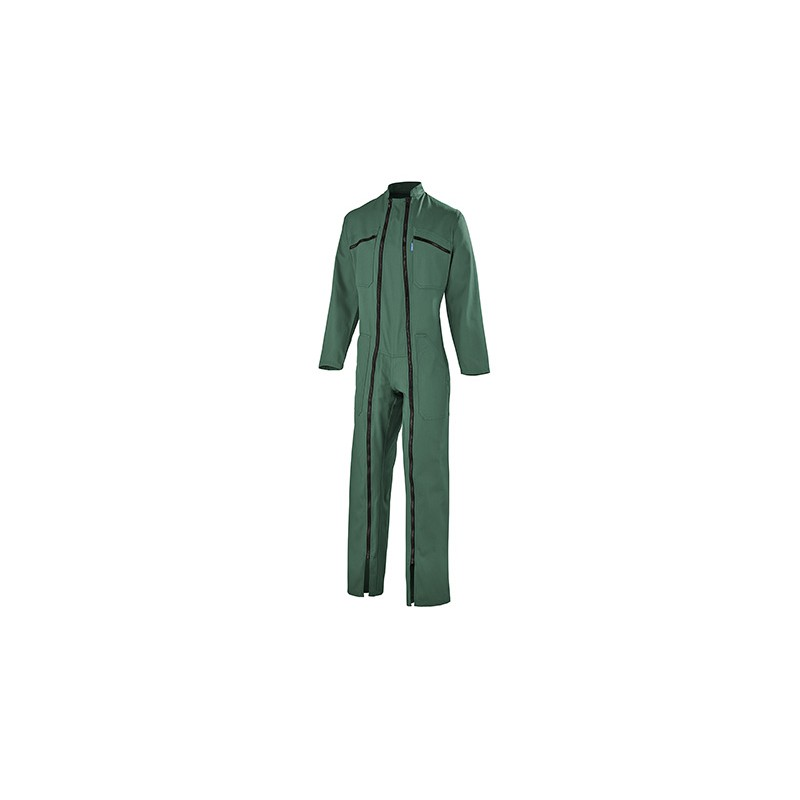 Combinaison 2 zip vert US