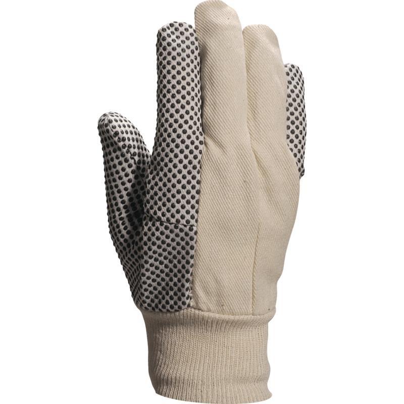 Gant Coton avec Picots Noir