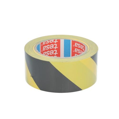 Marquage sol adhésif noir/jaune 33M x 50MM