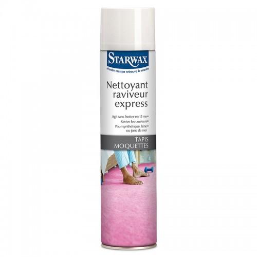 Starwax Nettoyant Raviveur Express Tapis Moquettes (Aérosol 600ml)