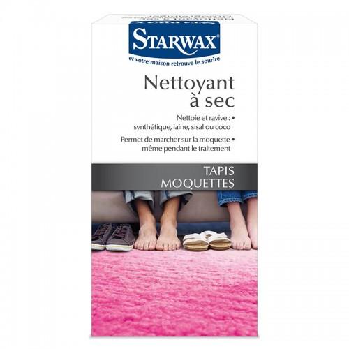 STARWAX NETTOYANT A SEC TAPIS MOQUETTES BOITE DE 500G